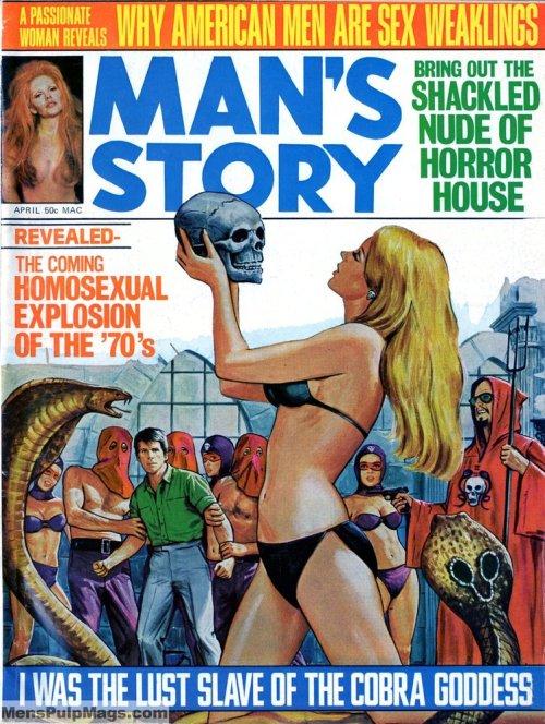 Man's Story, april 1970