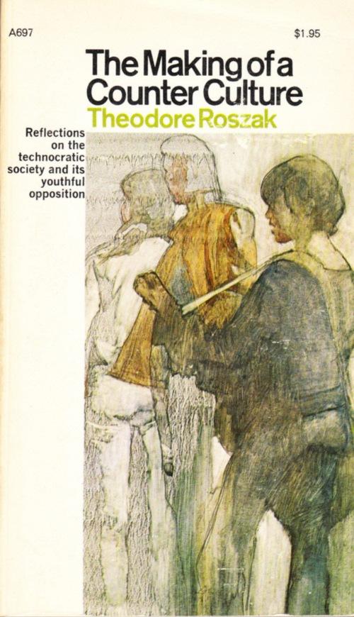 Paperback, Anchor Books 1969. Theodore Roszaks måske bedst kendte arbejde. En banebrydende bog om det amerikanske ungdomsoprør
