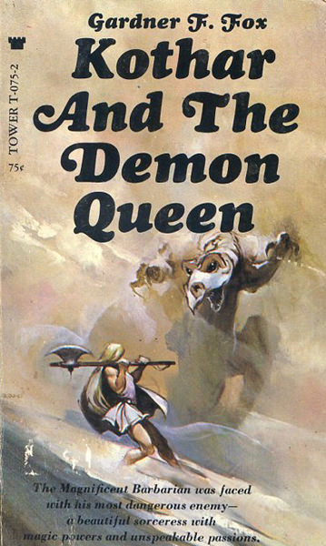 Paperback, Tower Books 1969. Endnu et bind i serien med en fantastisk forside af Jeff Cathrine Jones