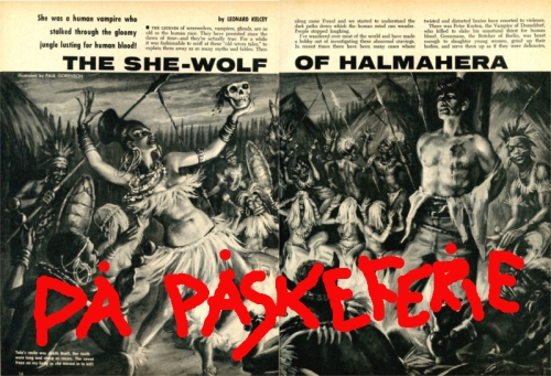SHE-WOLF OF HALMAHERA
