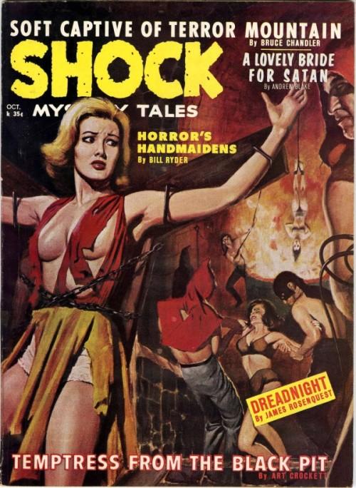 Shock Mystery Tales, oktober 1962