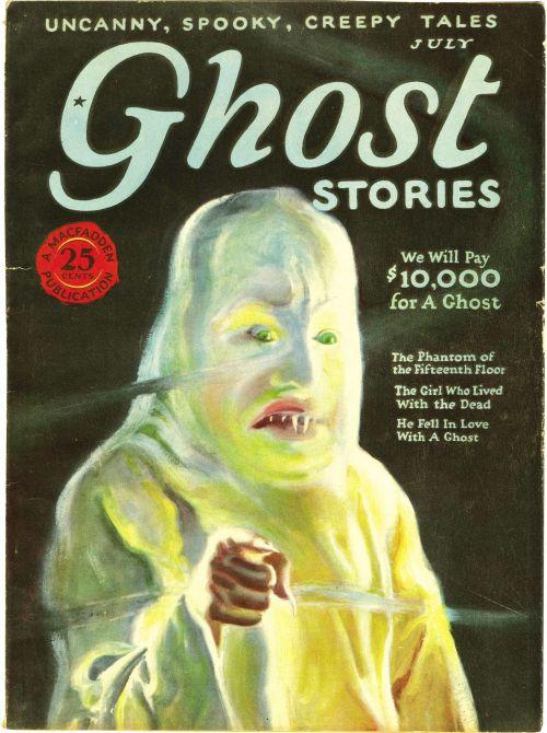 Ghost Stories, juli 1926