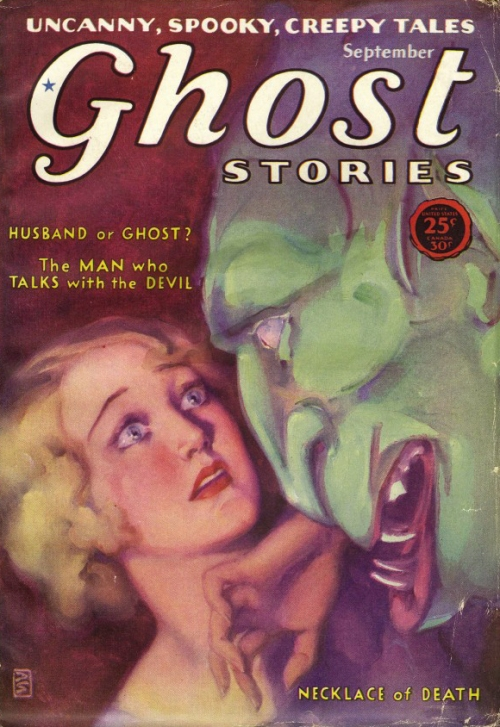 Ghost Stories, september 1926