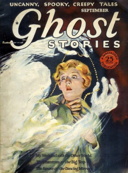 Ghost Stories, september 1927