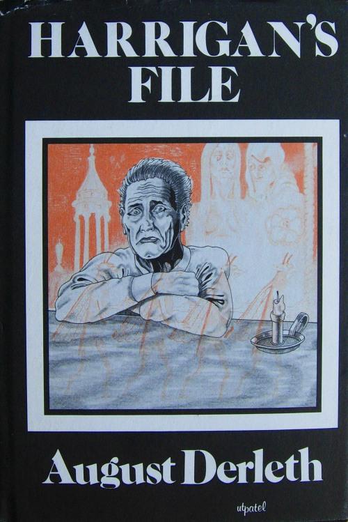 Hardcover, Arkham House 1975. Den ferske forside er tegnet af Frank Utpatel - den faste forsideskaber for Arkham House i denne periode