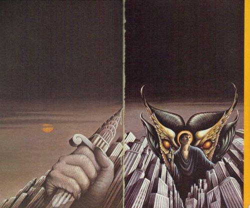 Indersiden af paperback-udgaven fra 1982
