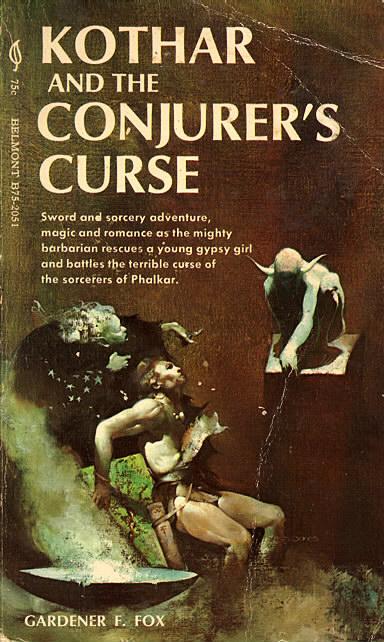 Paperback, Belmont Books 1970. Som de tidligere bind er den fine forside malet af Jeff Cathrine Jones