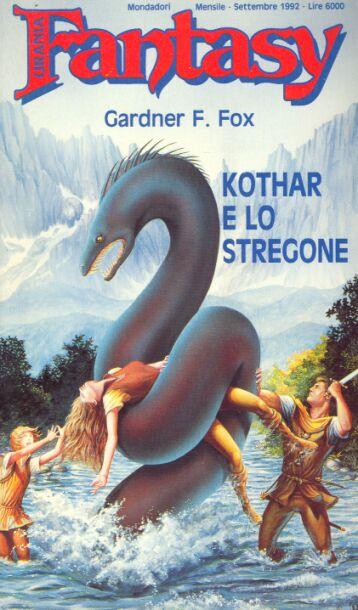 Paperback, Mondadori Editore 1992. En italiensk oversættelse af seriens fjerde bind - de tre tidligere blev ikke oversat, hvilket er en smule spøjst