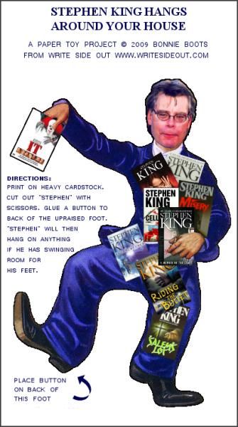 """en """"Klip-ham-ud""""-Stephen king - eller slet og ret en King-kravlenissse"""