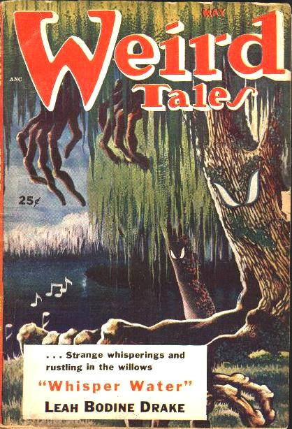 """Weird Tales, maj 1953. Her findes den fine """"A Corner for Lucia"""" trykt"""