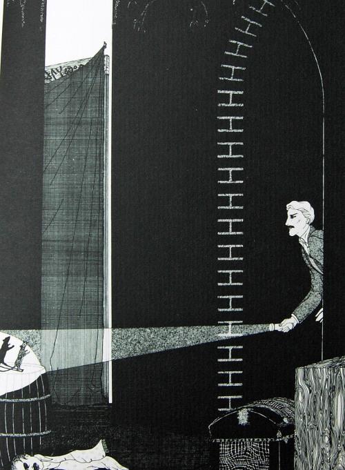 En af bogens fine, fine illustrationer af Robert Arrington