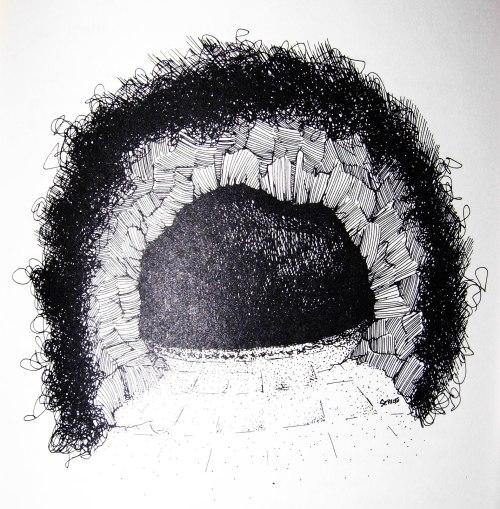 Tegnet af Allan Servoss
