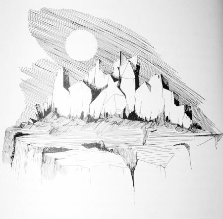 Bogens ganske, ganske fine illustrationer er udført af Allan Servoss