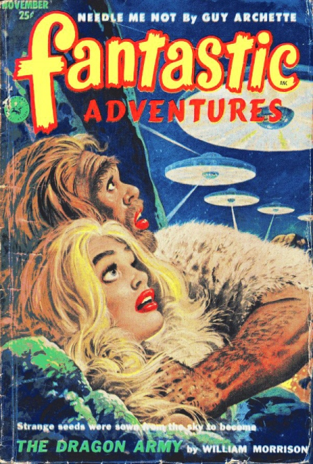Fantastic Adventures, november 1952