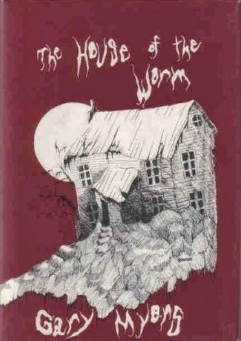 Hardcover, Arkham House 1975. Den meget stemningsfulde forside er tegnet af Allan Servoss