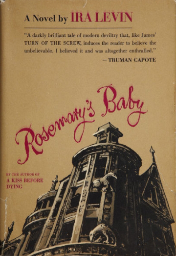 Hardcover, Random House  1967. romanens 1. udg.