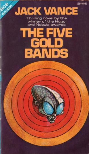 """Paperback, Ace Books 1972. Forsidebilledet er tegnet af """"Lloyd"""". Romanen blev udsendt som """"double"""" med Vances roman The Dragon Masters fra 1962"""