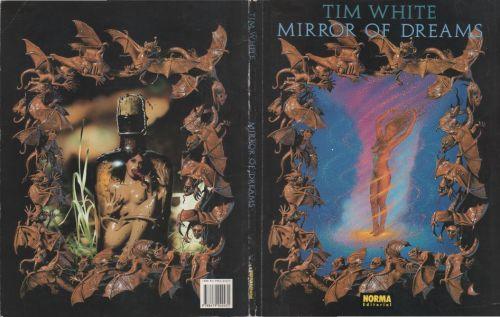 Paperback, Norma Editorial 1994. En kunstbog der samler en del af Tim Whites forsider og illustrationer