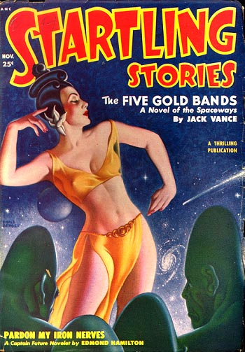 Startling Stories, november 1950. Magasinet hvor romanen så dagens lys for første gang