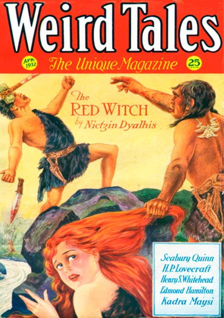 Weird Tales, april 1932