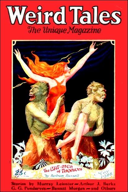 Weird Tales, maj 1928