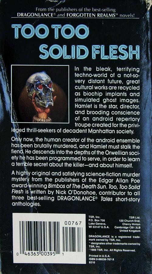 Paperback, TSR 1989