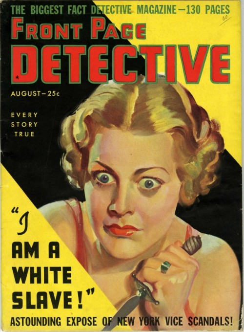 Front Page Detective, august 1936