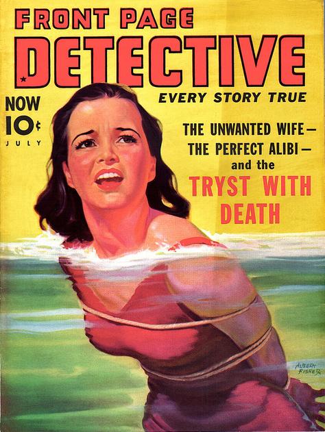 Front Page Detective, juli 1939