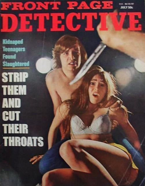 Front Page Detective, juli 1971