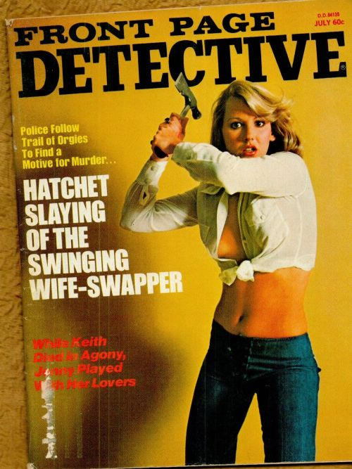 Front Page Detective, juli 1975