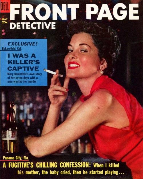 Front Page Detective, maj 1955