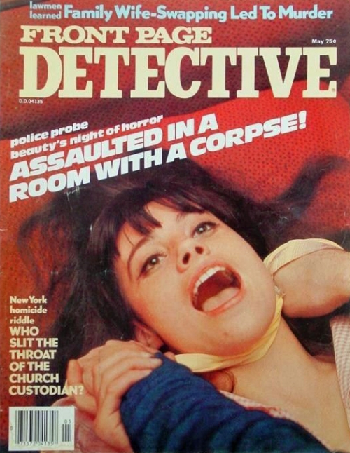Front Page Detective, maj 1978