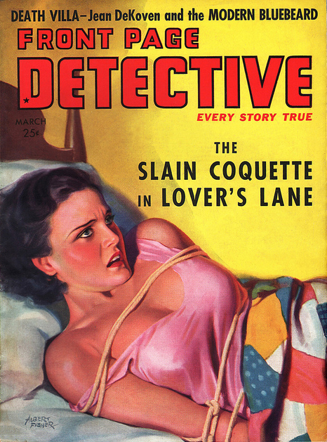 Front Page Detective, marts 1938