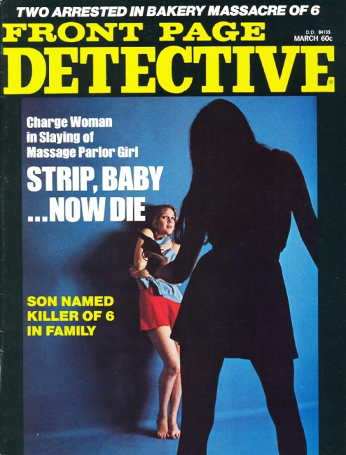 Front Page Detective, marts 1975