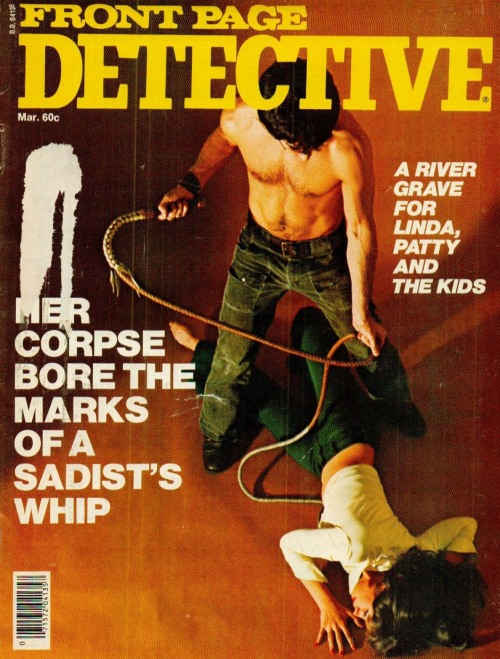 Front Page Detective, marts 1976