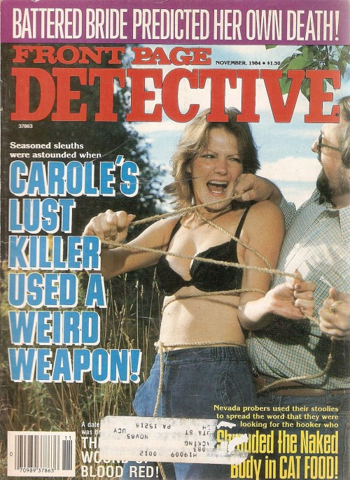 Front Page Detective, november 1984