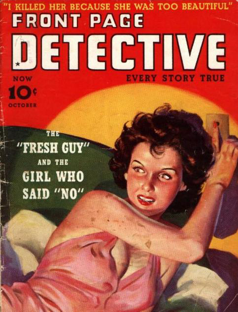 Front Page Detective, oktober 1939
