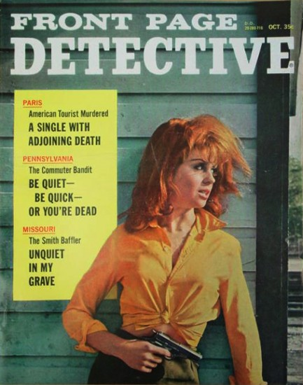 Front Page Detective, oktober 1967