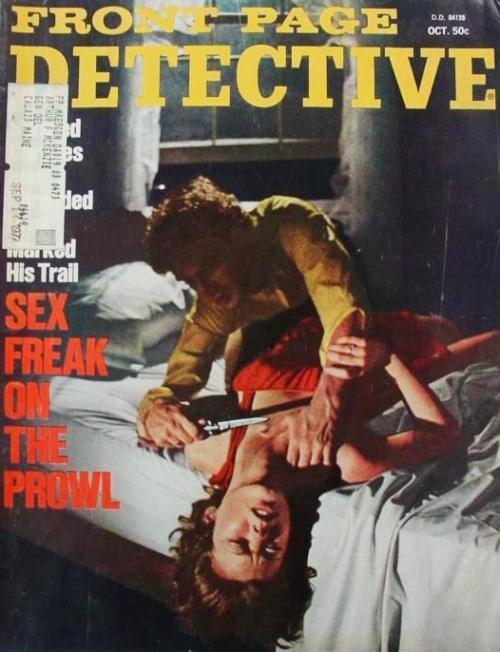 Front Page Detective, oktober 1972