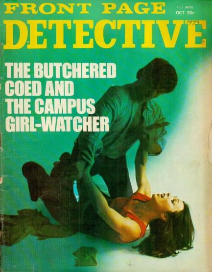 Front Page Detective, oktober 1973
