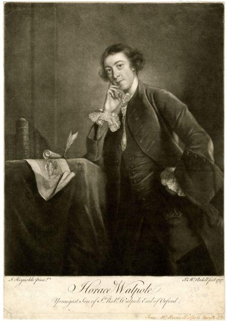 Horace Walpole (24. september 1717 – 2. marts 1797)