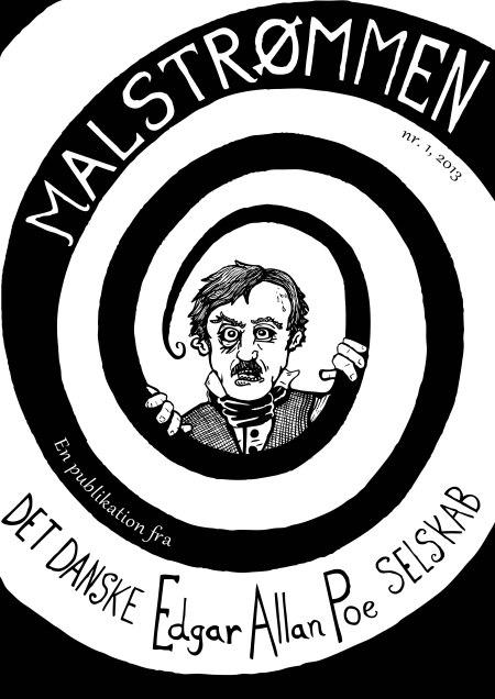 Malstrømmen nr. 1, 2013. Poe-selskabets interessante blad.