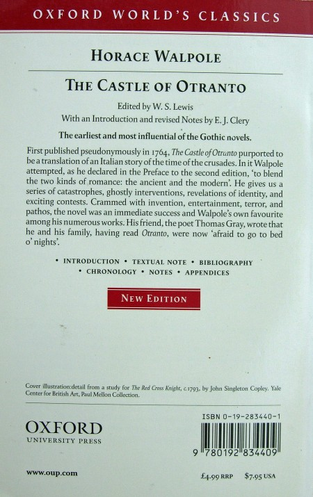 Paperback, Oxford University Press 1998