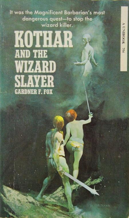 Paperback, Unibooks 1970. Som de andre bind i serien er denne fine forside malet af Jeff Catherine Jones