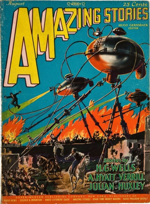 Amazing Stories, august 1927