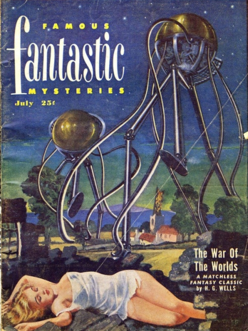 Famous Fantastic Mysteries, juli 1953