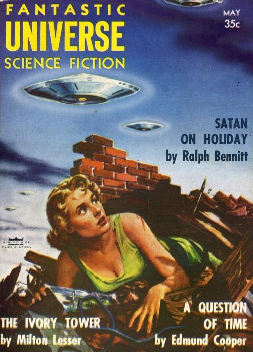 Fantastic Universe, maj 1956