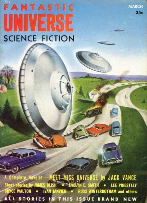 Fantastic Universe, marts 1955