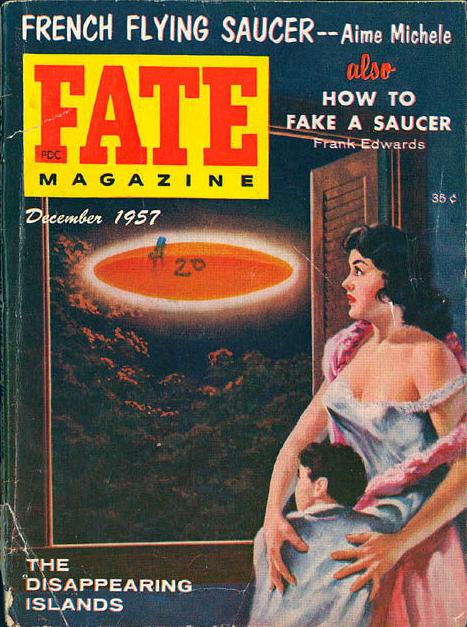 FATE Magazine, december 1957