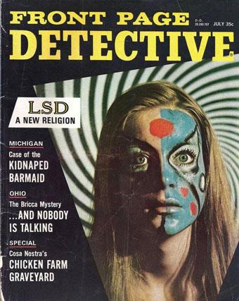 Front Page Detective, juli 1967